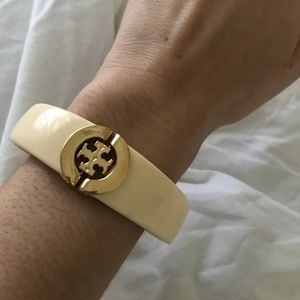 TORCH BURCH CUFF BRACELET ROSELLA BANGLE LOGO